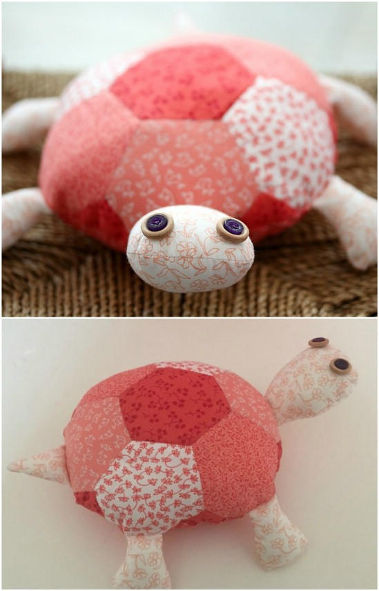 Provide the comfort of companionship with a handcrafted plush toy.