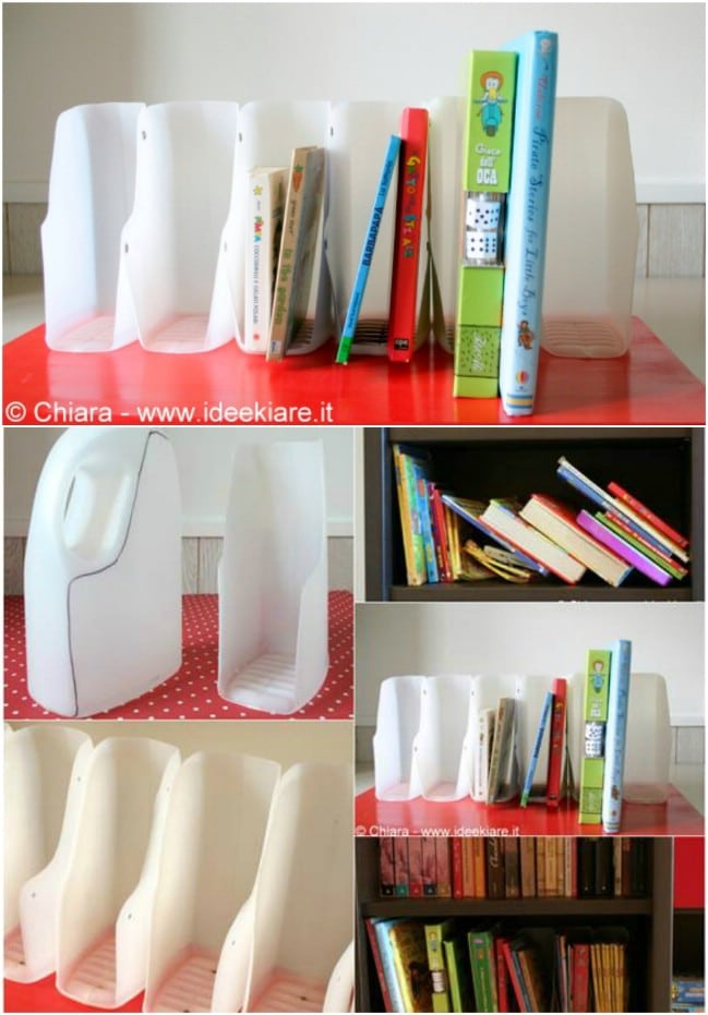 Easy DIY Book Organizer