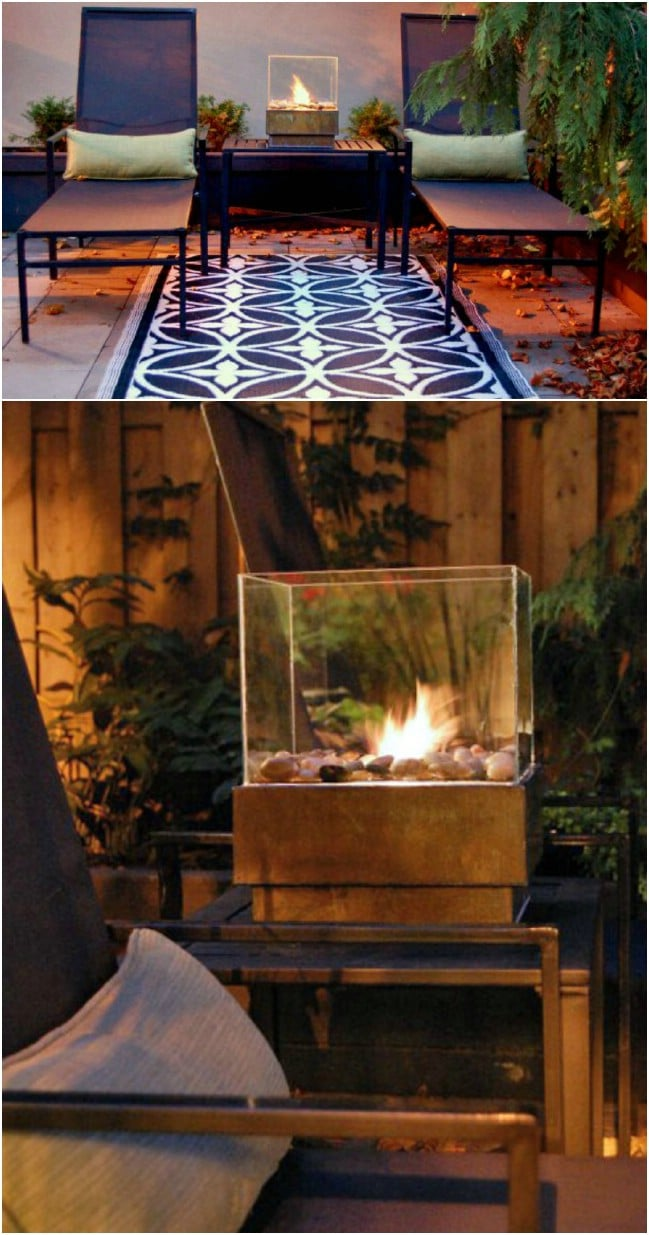 Cheap And Easy Personal Fire Pit