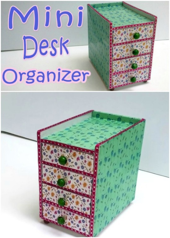 Build a cute organizer.