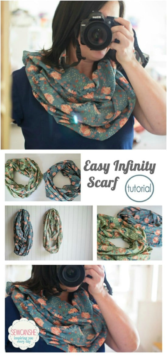 Make an infinity scarf.