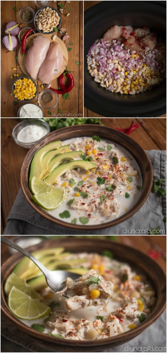 Creamy White Chicken Chili Is The Perfect Slow Cooker Meal For Busy Nights