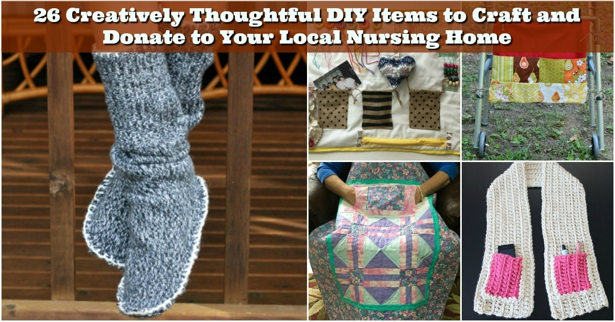 Diy Items To Craft And Donate