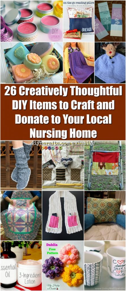 26 Creatively Thoughtful Diy Items To Craft And Donate To Your Local