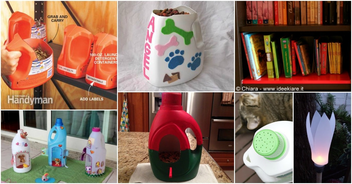 25 Fun And Creative Ways To Upcycle Empty Laundry