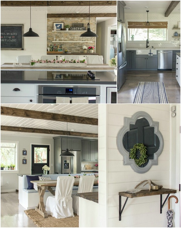 DIY Farmhouse Kitchen