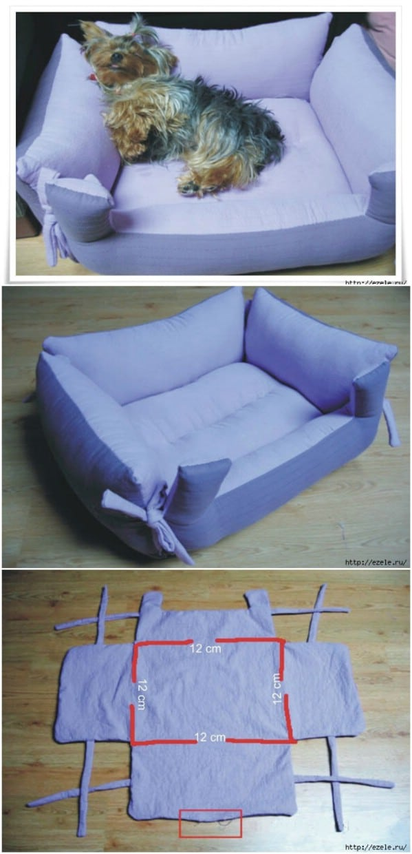 20 Easy Diy Dog Beds And Crates That Let You Pamper Your Pup Diy