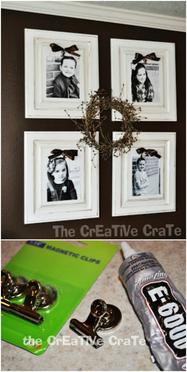 Decorative Cabinet Door Picture Frame
