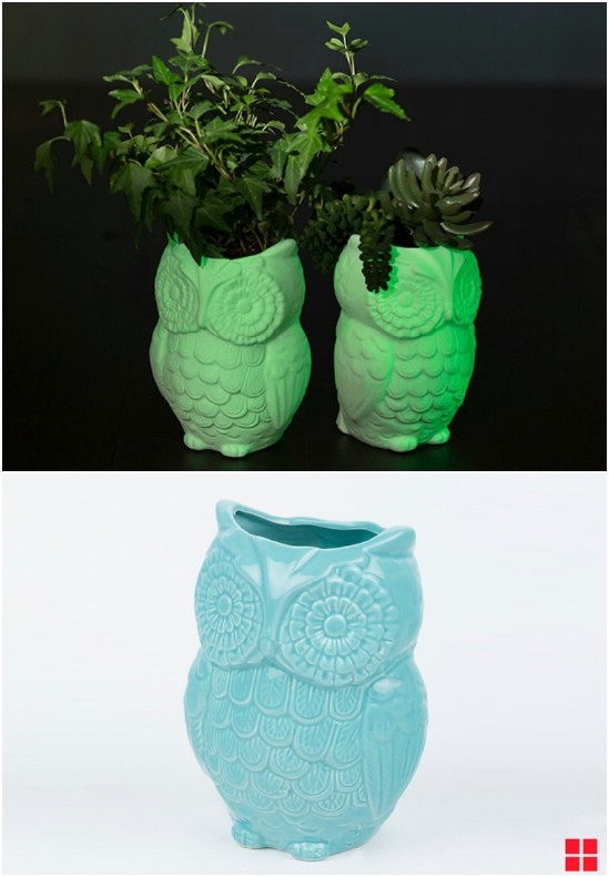 Easy Glow In The Dark Planters
