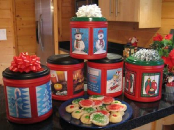 DIY Holiday Treat Containers