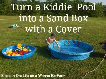 Easy DIY Sandbox