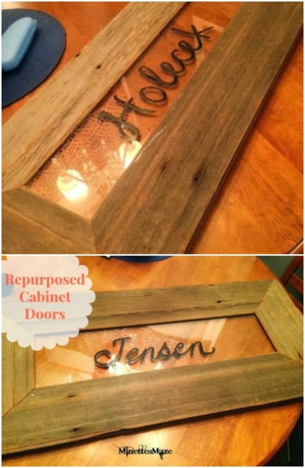 Diy Projects Made From Old Cabinet Doors Time