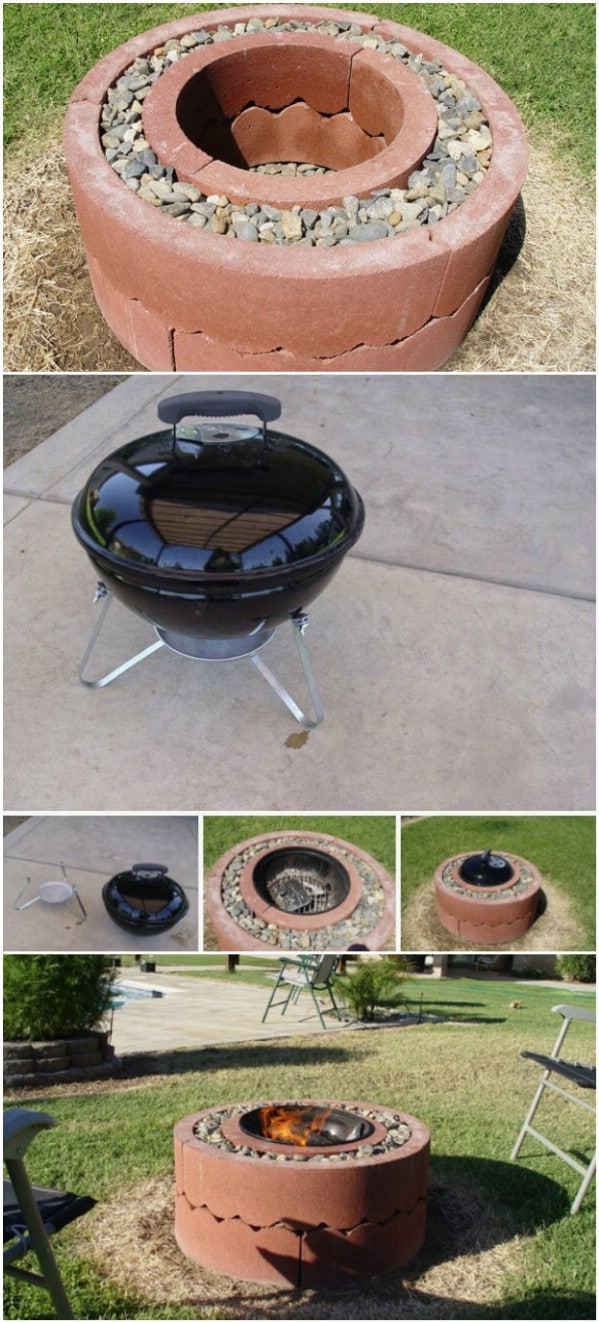 30 Brilliantly Easy Diy Fire Pits To Enhance Your Outdoors Diy Crafts