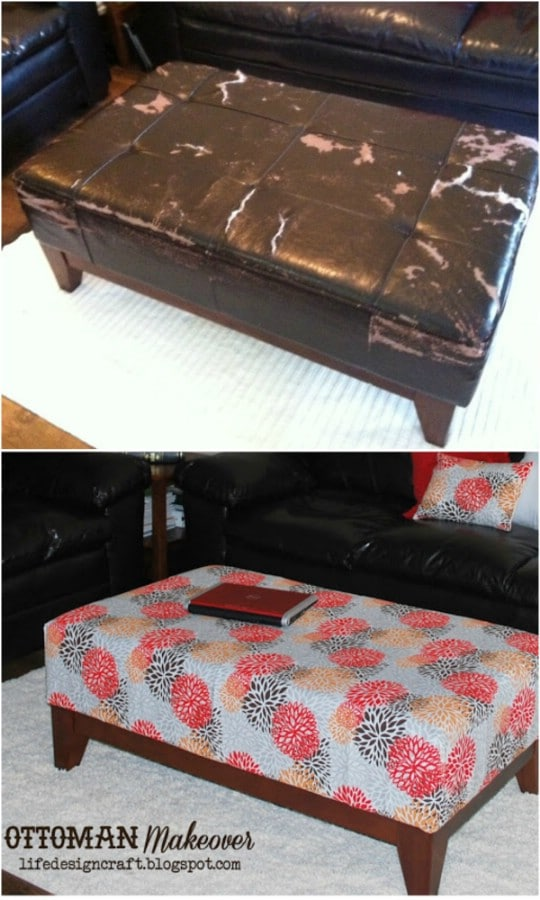 Amazing 20 Fabulously Decorative Ottomans You Can Easily Make Machost Co Dining Chair Design Ideas Machostcouk