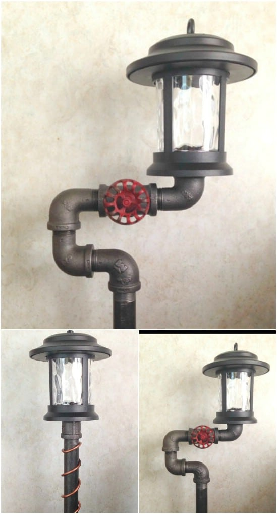 Solar Powered Steam Punk Style Lighting