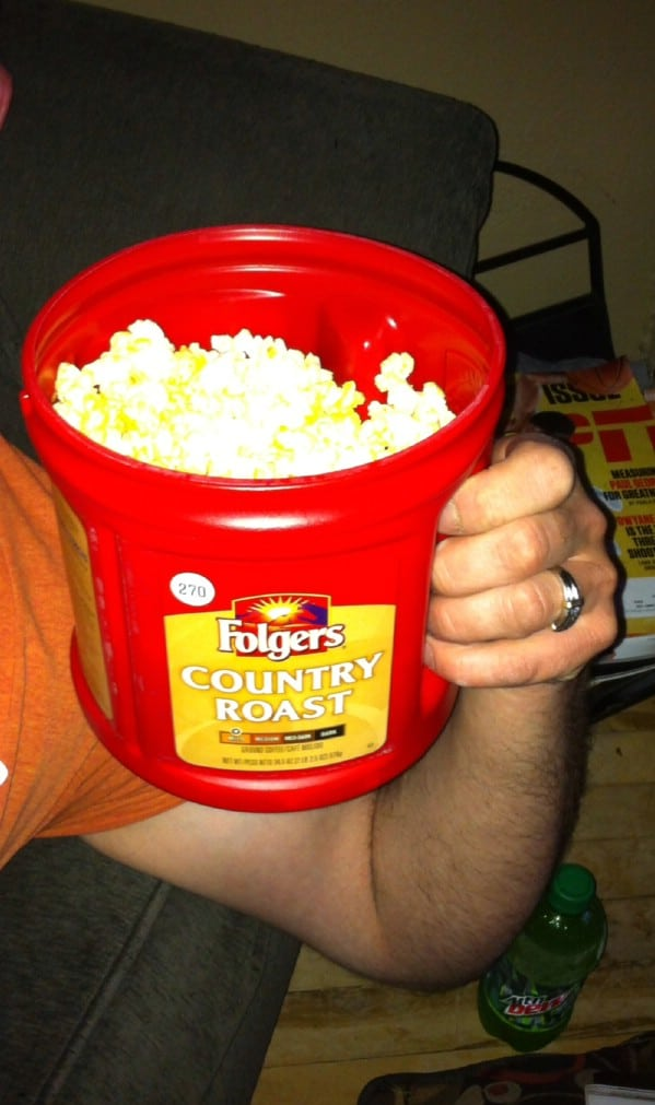 Easy DIY Popcorn Pail