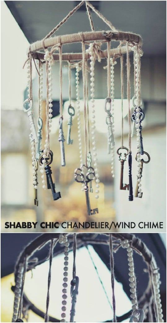 Shabby Chic DIY Wind Chime