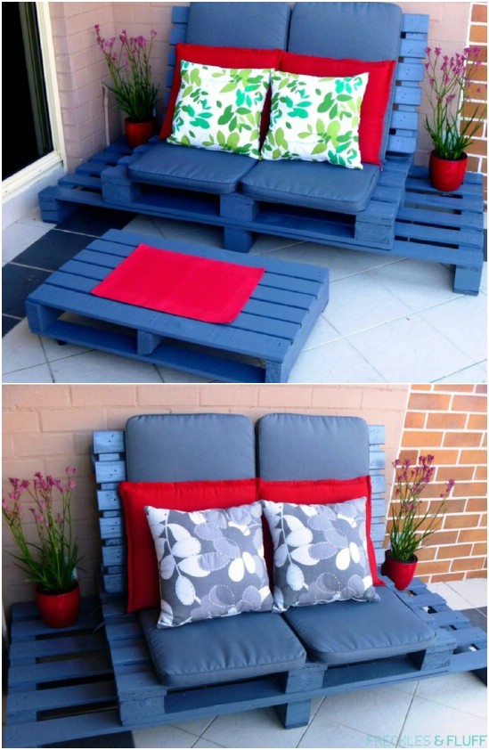 Reclaimed Pallet Lounge