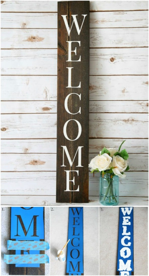 Easy DIY Silhouette Signs