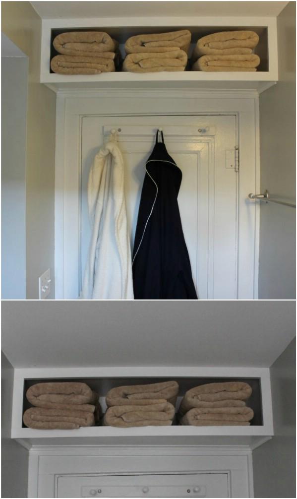 Build An Over The Door Shelf