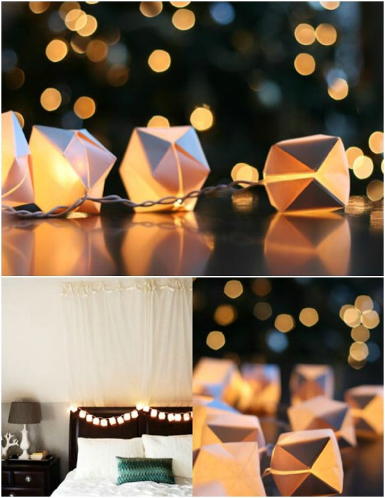 Easy DIY Origami Mini Lanterns
