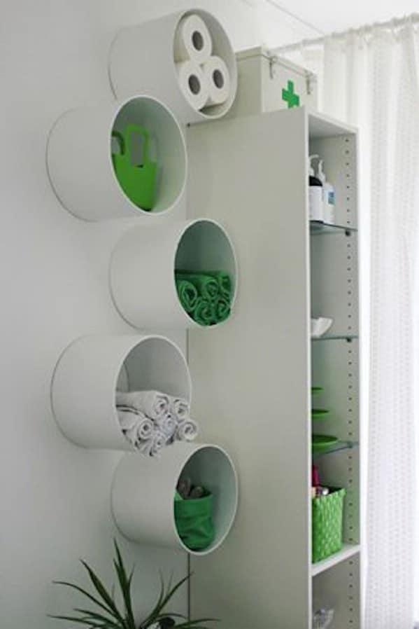 Cool DIY Bathroom Storage
