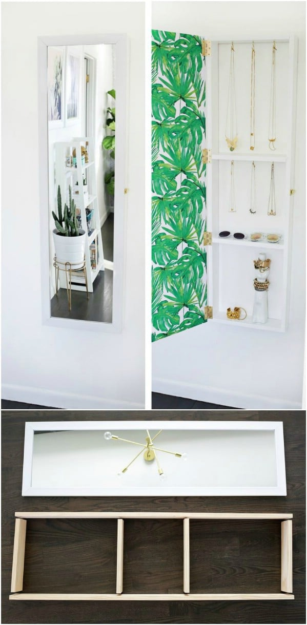 Hide Jewelry Behind A Mirror