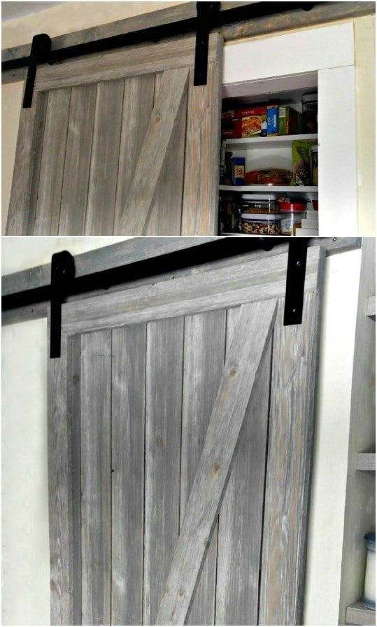 Sliding Barn Style Shiplap Door