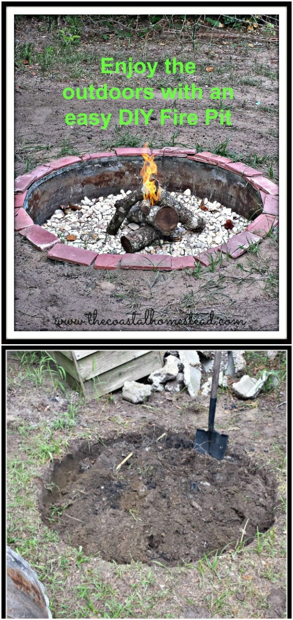 Easy $20 Fire Pit