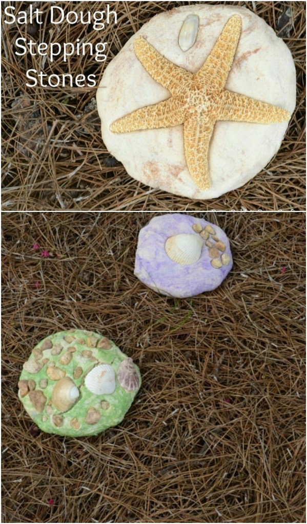 DIY Salt Dough Stepping Stones