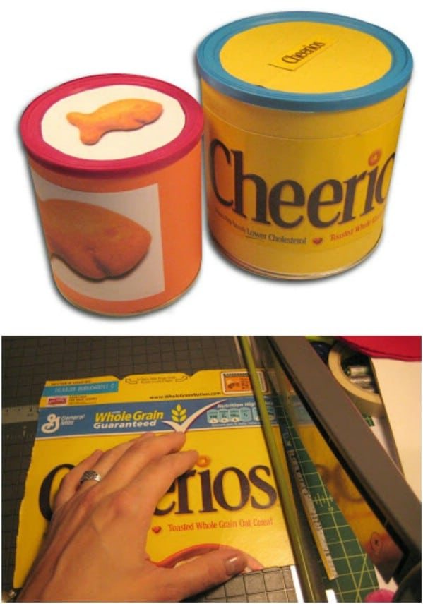 Easy Repurposed Can Snack Holders