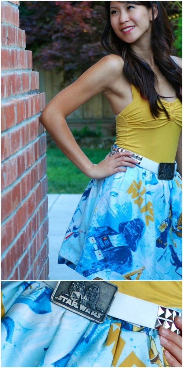 Beautiful DIY Star Wars Skirt