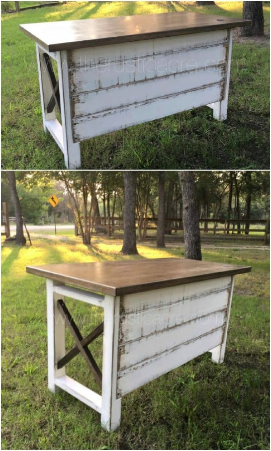 Beautiful Farmhouse Styled Desk