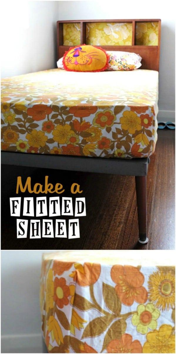 Repurposed Sheet Into Smaller Sheet