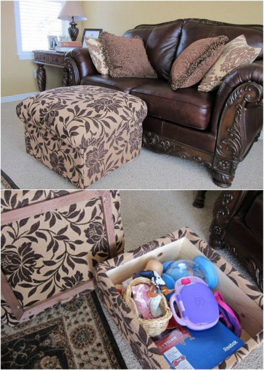 Prime 20 Fabulously Decorative Ottomans You Can Easily Make Onthecornerstone Fun Painted Chair Ideas Images Onthecornerstoneorg