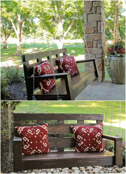Easy DIY Porch Swing