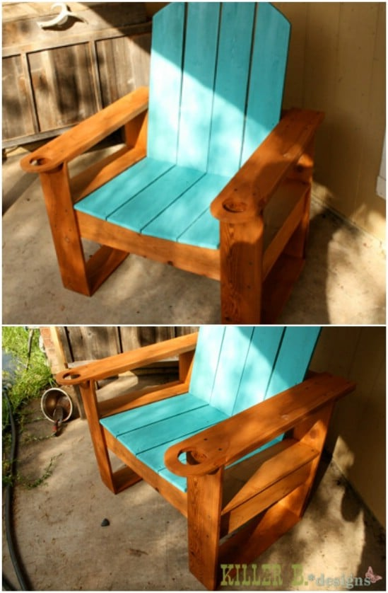 $25 DIY Adirondack Chair
