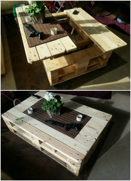 DIY Multi-Function Outdoor Table