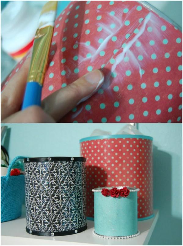 Easy DIY Craft Storage