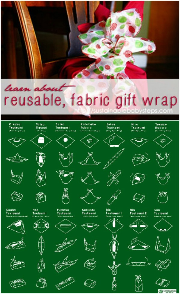 Creative Fabric Gift Wrap