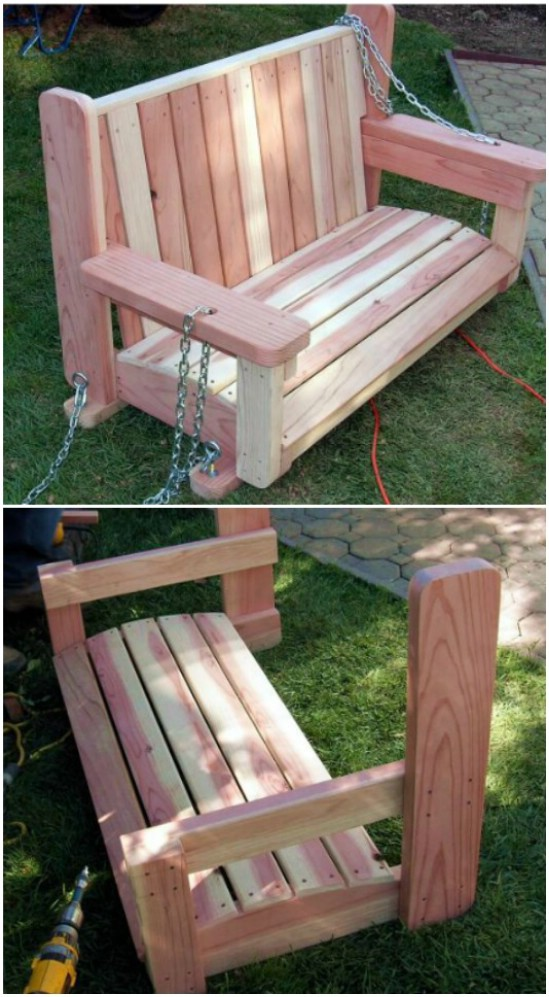 Diy Backyard Furniture Ideas