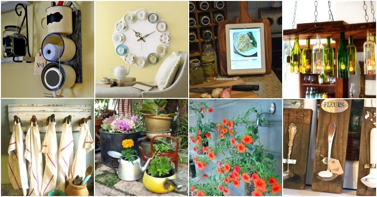 50 Brilliant Repurposing Ideas To Turn Old Kitchen Items