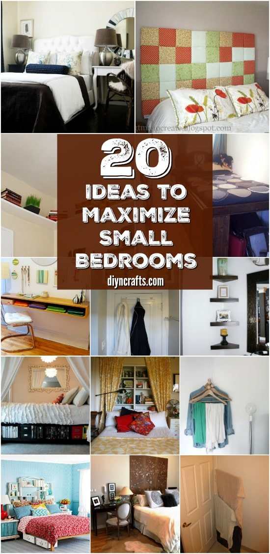 40 Space Saving Ideas And Organizing Projects To Maximize Your Small Stunning Organizing A Small Bedroom
