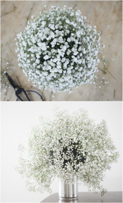 Baby's Breath Wedding Globes