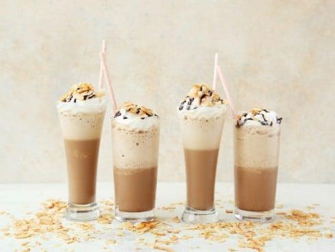 Mock Starbucks Coconut Mocha Frappe Cappuccino