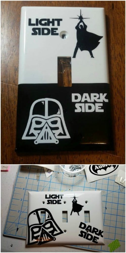 Star Wars Inspired Light Switch Cover