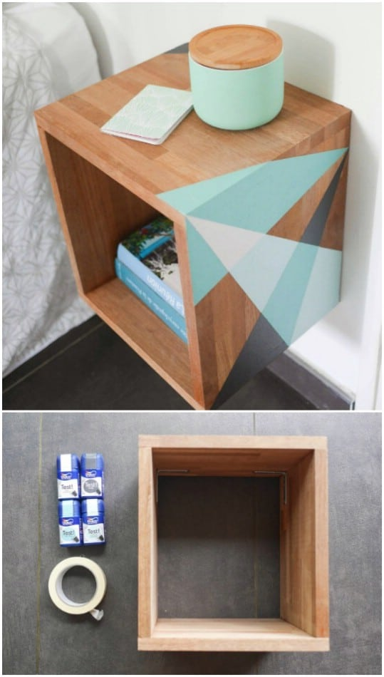Easy Graphic Floating Nightstand