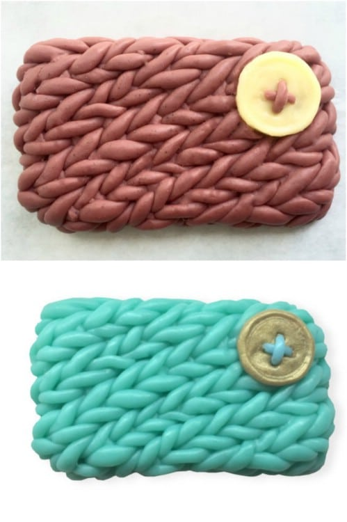 Decorative Knitted Sweater Soap