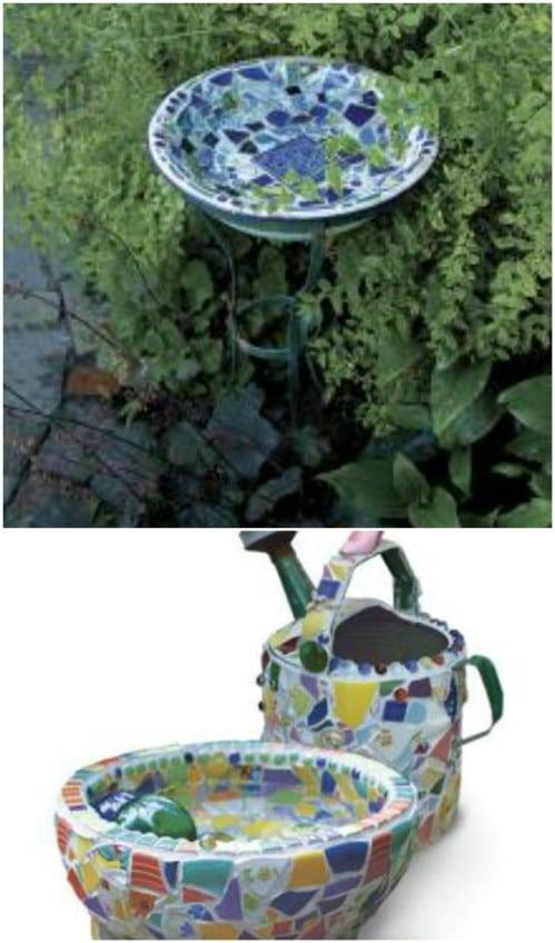 Stunning Mosaic Garden Art