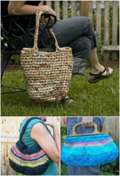 Plastic Grocery Bag Handbag